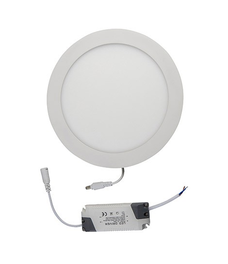 Downlight LED cuadado sup blanco